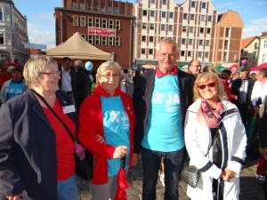 Demokratiefest 3. September 2015 in Stralsund