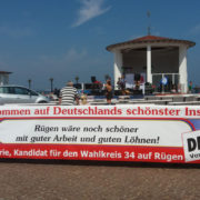 Aktion in Binz